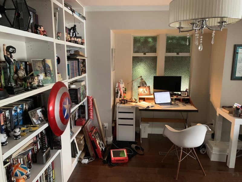 Mike Shackle's workspace
